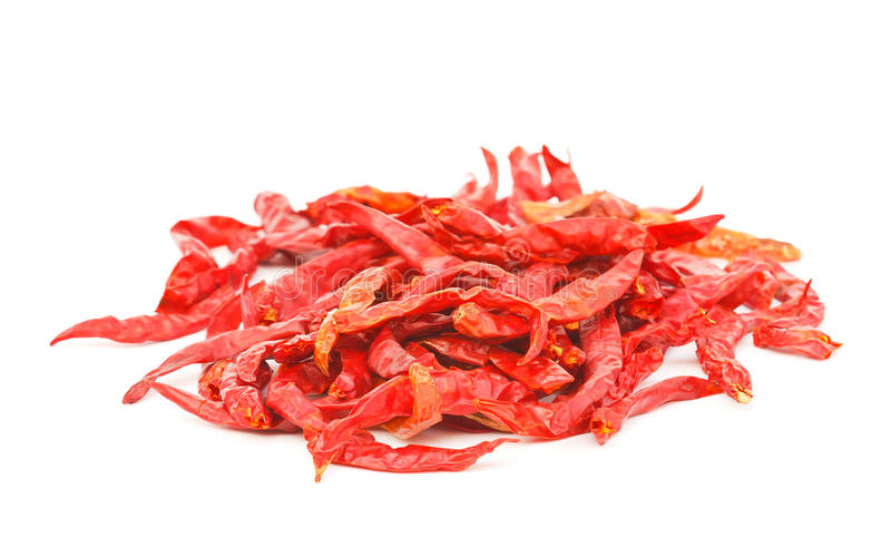 Dried Chili Pepper. royalty free stock photos