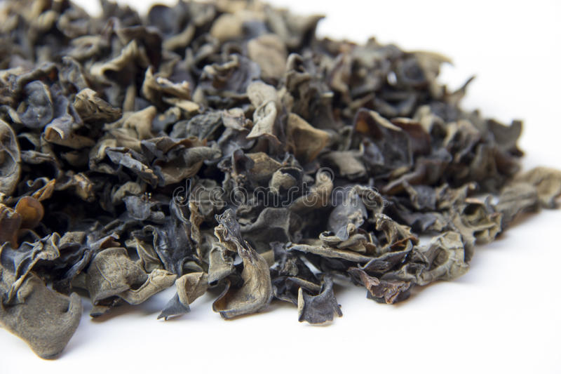 Dried chinese black fungus royalty free stock photos