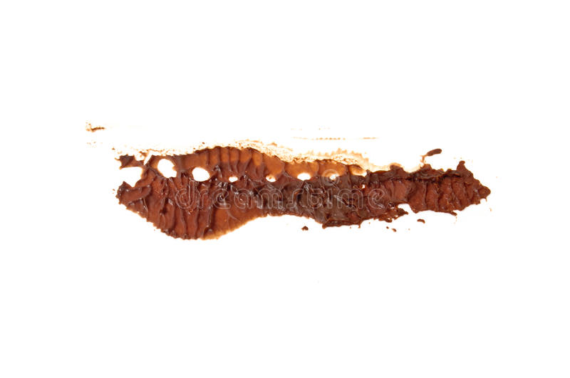 Download Dried chocolate stain stock image. Image of patch, texture - 21598827