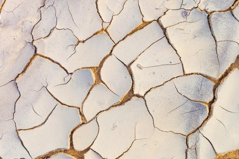 Dried and cracked earth pattern, drought concept. Dried and cracked earth pattern, drought and climate change concept royalty free stock image
