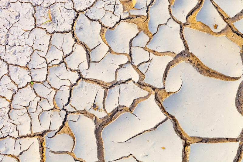 Dried and cracked earth pattern, drought concept. Dried and cracked earth pattern, drought and climate change concept royalty free stock photo