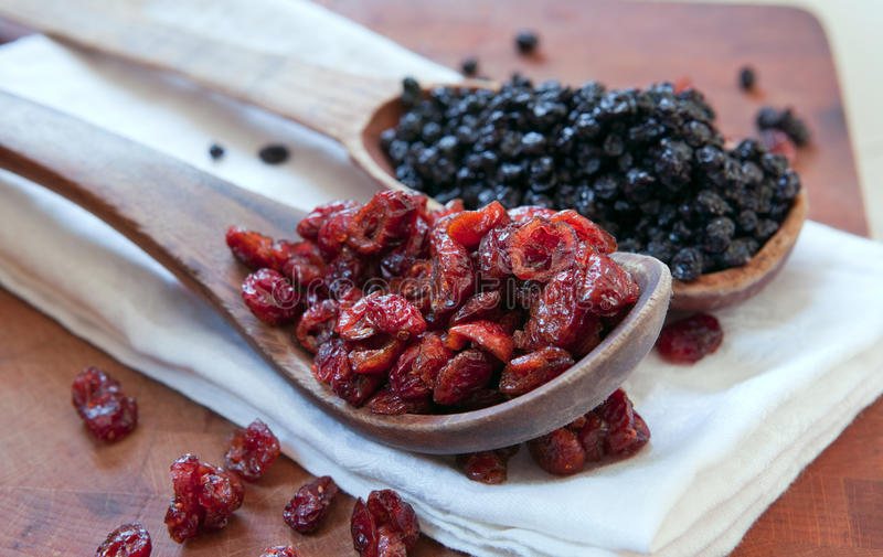Download Dried Cranberries & Blueberries Stock Photo - Image of desserts, dried: 13530424