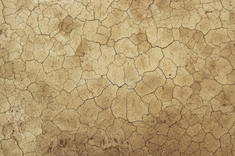 Dried Dirt Mud Background Texture - Desert Global Warming stock images