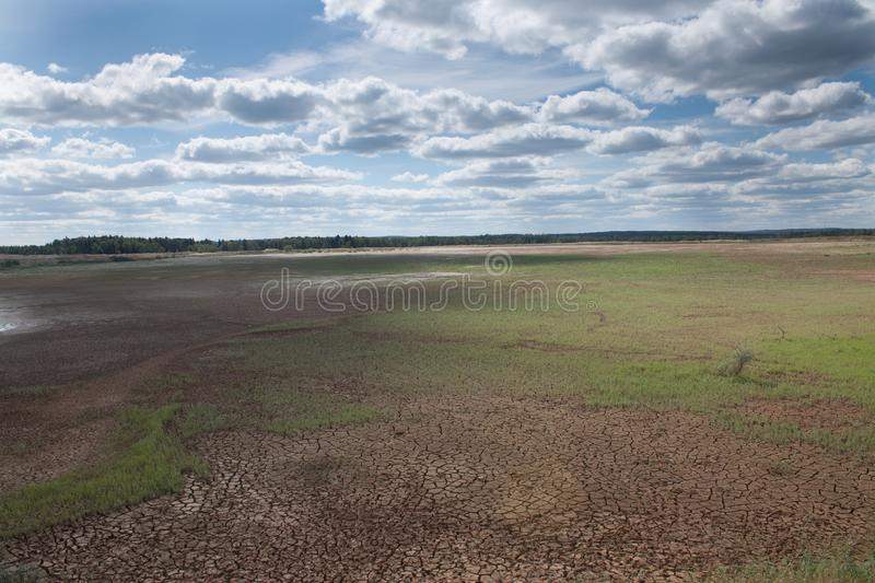 Download Dried Earth stock image. Image of cracked, cloudy, infertility - 16688611