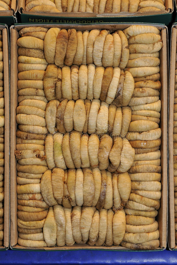 Download Dried figs stock image. Image of markets, fruit, vegetarians - 12634271