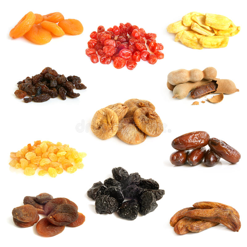 Free Dried Fruit Collection Royalty Free Stock Photography - 27795297
