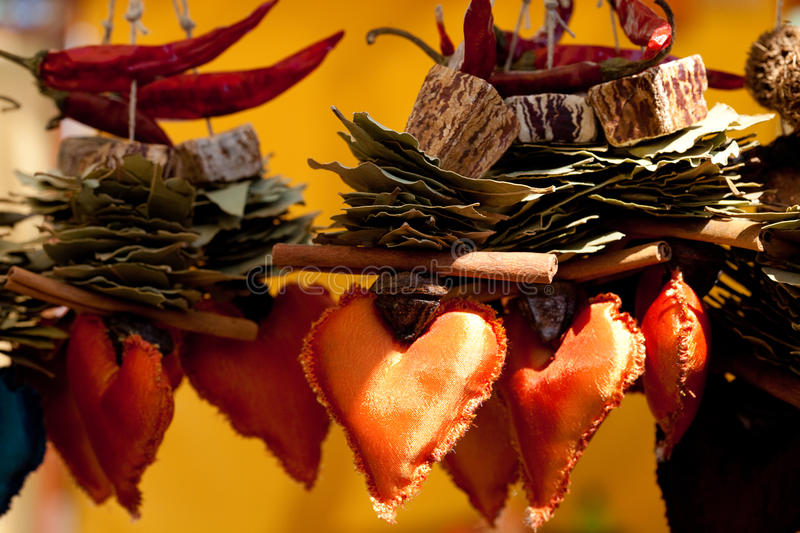 Download Dried Fruit, Vegetables And Spices At The Fair Stock Photo - Image: 19579230