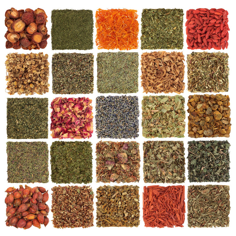 Free Dried Herb, Spice, Fruit And Flora Royalty Free Stock Image - 15263546