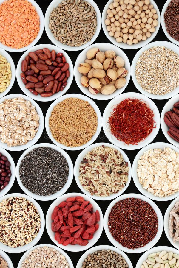 Dried High Fiber Health Food royalty free stock photography