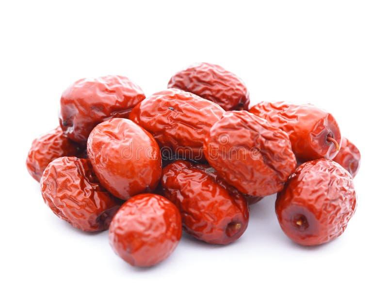 Dried jujube fruits stock photos