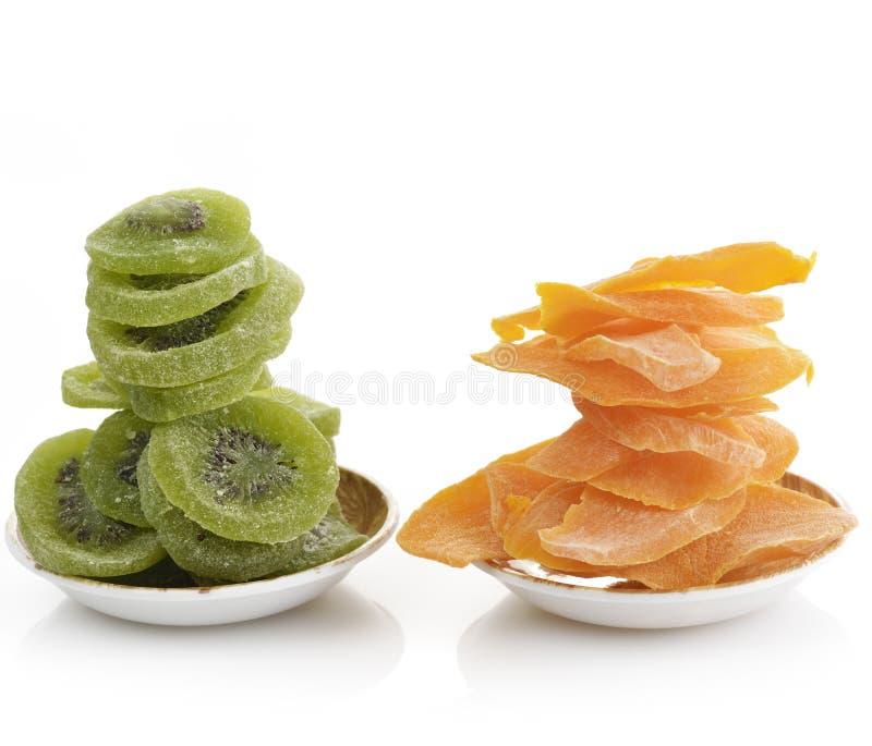 Dried Kiwi And Mango Fruits royalty free stock photo