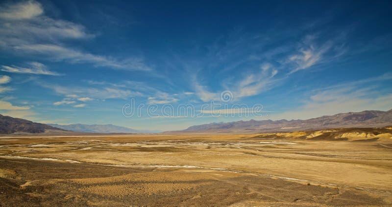 Salt Flats Death Valley California royalty free stock photo