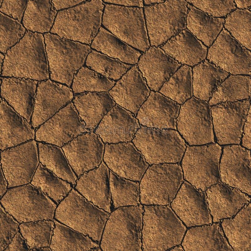 Download Dried Mud stock illustration. Image of tile, dirt, background - 20433619