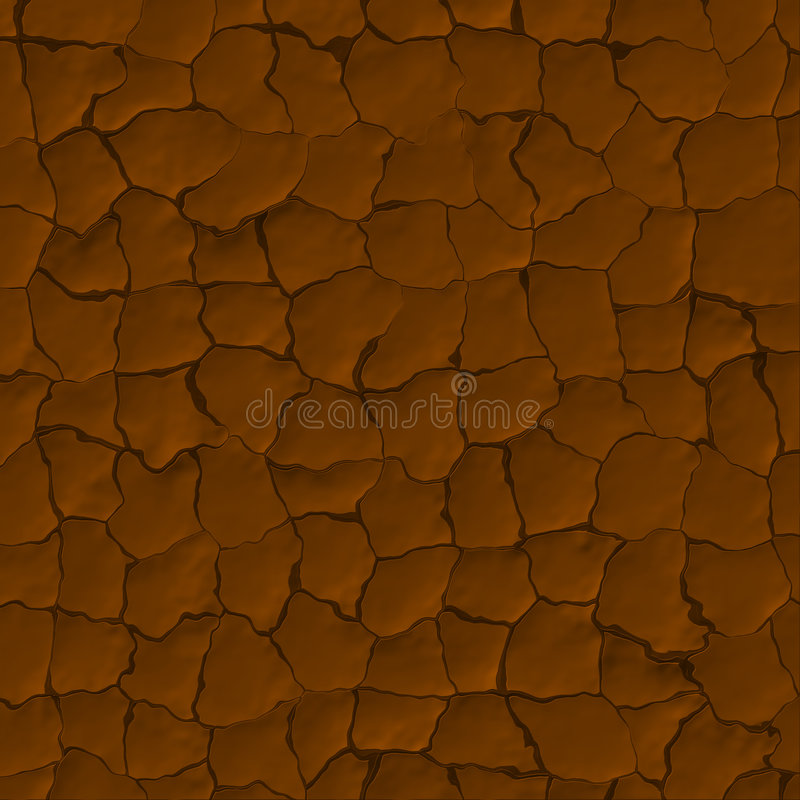 Download Dried Mud Cracks stock illustration. Illustration of ground - 3300545