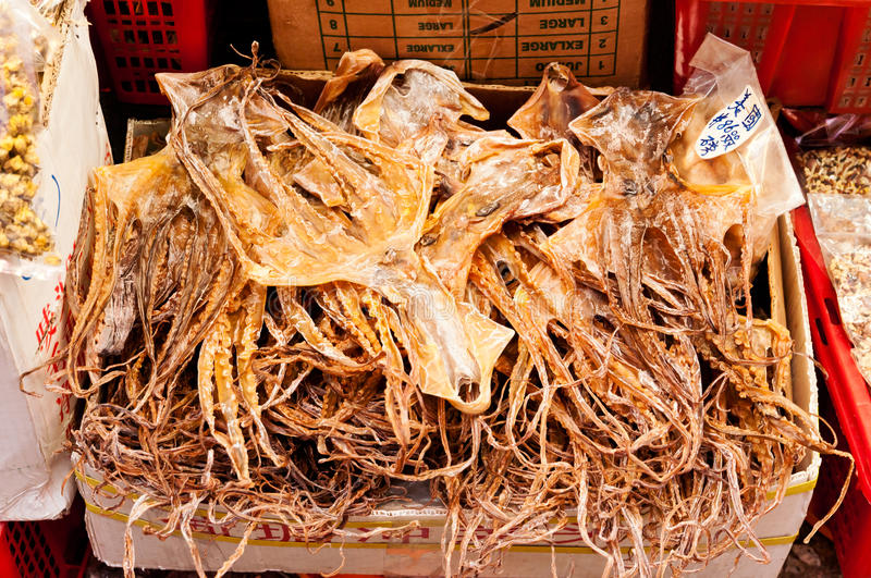 Download Dried Octopus Royalty Free Stock Photography - Image: 22885687