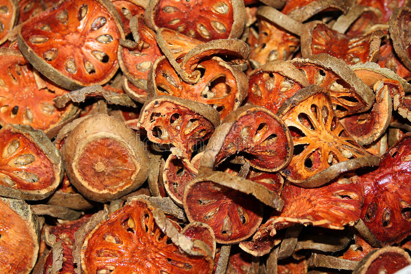 Dried Oranges Royalty Free Stock Image