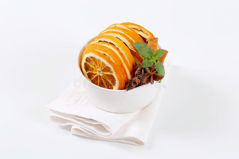 Download Dried Oranges With Spices Stock Photo - Image: 83705160