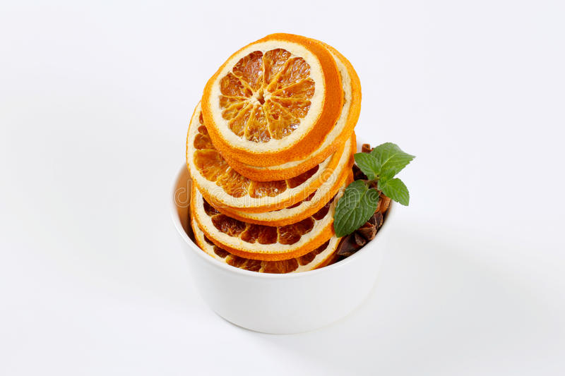 Download Dried Oranges With Spices Stock Photo - Image: 83705387