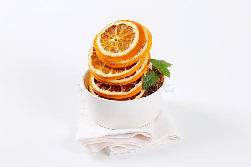 Download Dried oranges with spices stock photo. Image of shot - 83705512