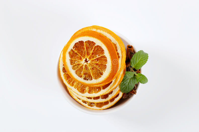 Download Dried Oranges With Spices Stock Photo - Image: 83705551