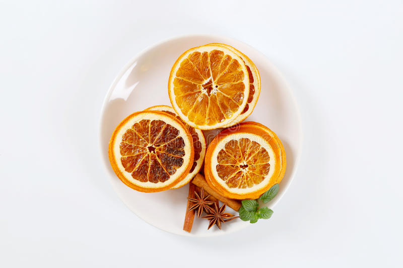 Download Dried Oranges With Spices Stock Photo - Image: 83707880