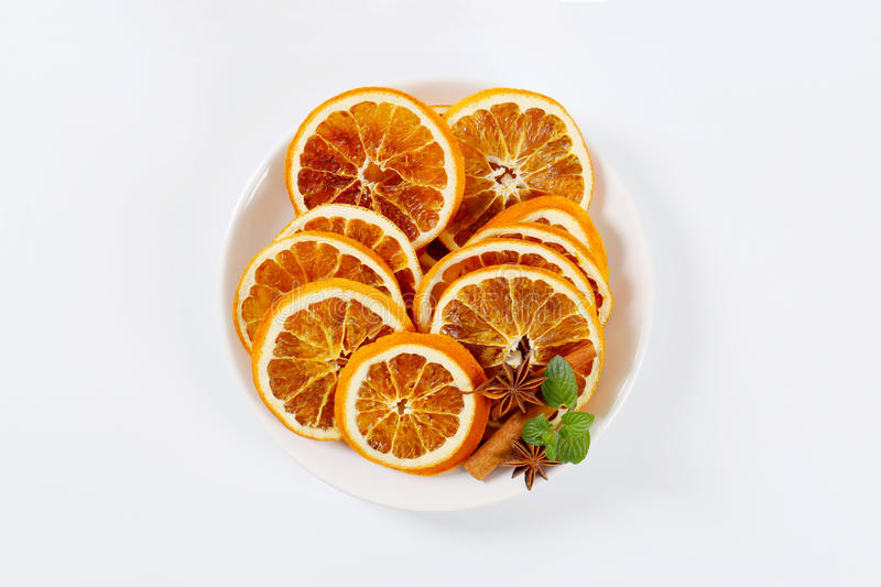 Download Dried Oranges With Spices Stock Photo - Image: 83708794