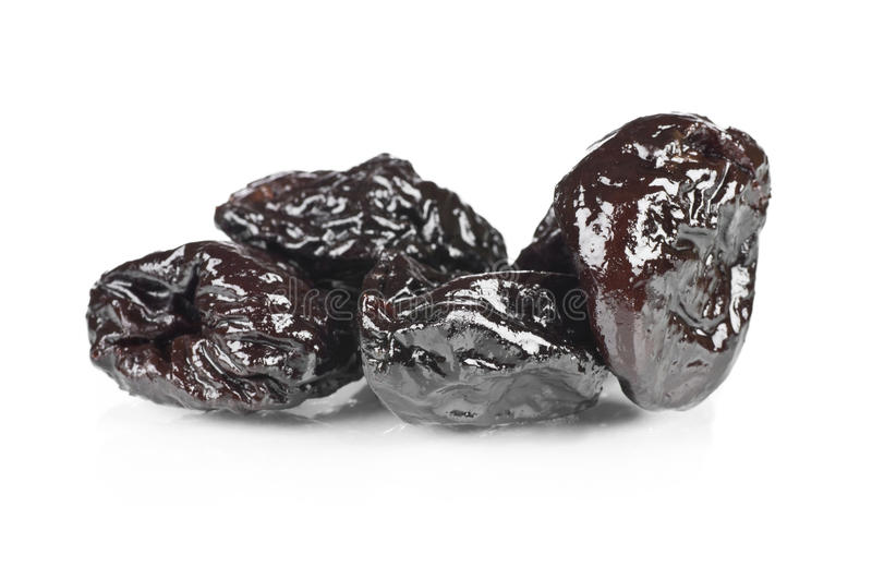 Dried Prunes Stock Photography