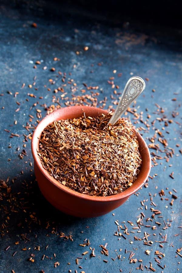 Dried rooibos tea royalty free stock image