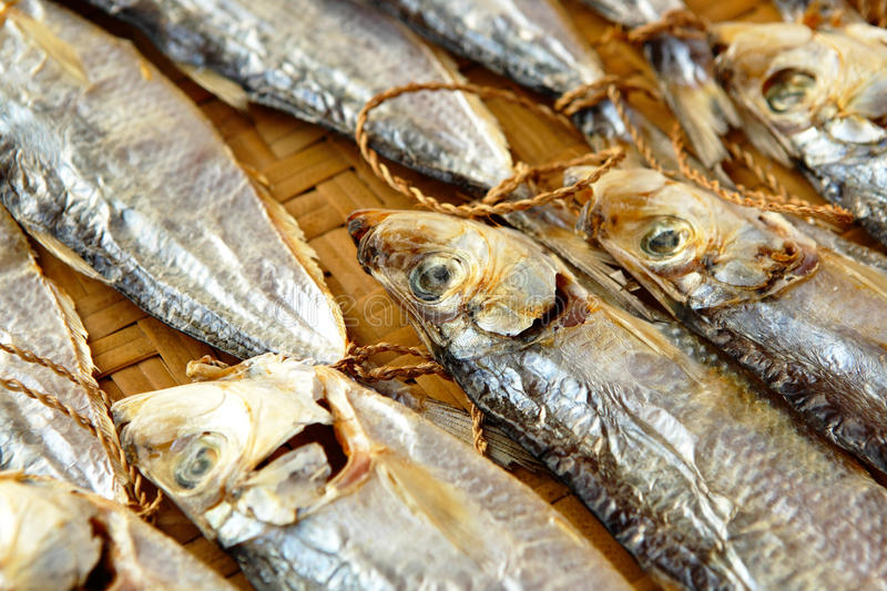 Dried salt fish stock image image of seafood snack for Dried salted fish