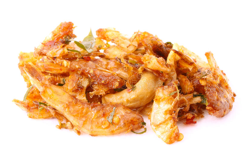 Dried shrimp chilli royalty free stock images