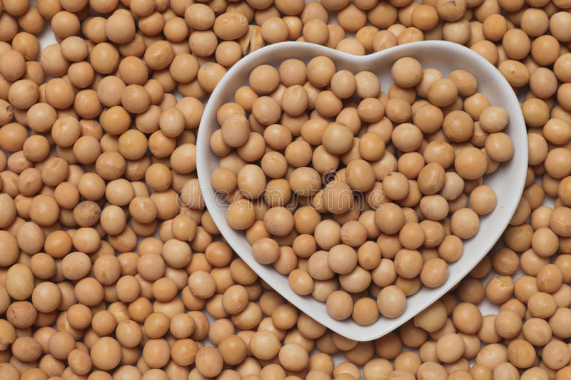 Download Dried soy bean stock photo. Image of soybean, heart, nobody - 38794424