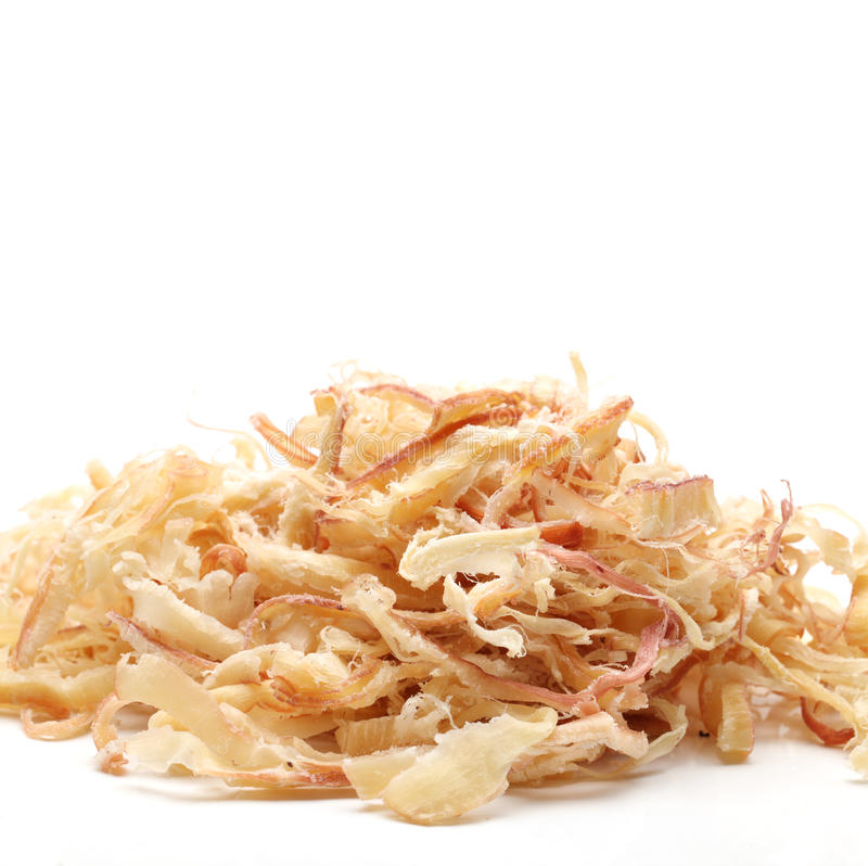 Dried squid royalty free stock images