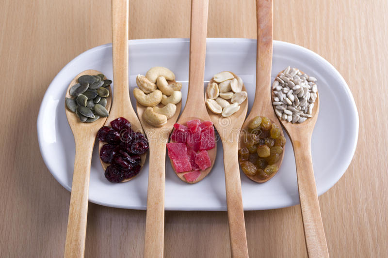 Dried Super Health Food royalty free stock photos
