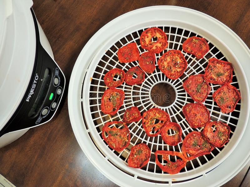 Dried Tomato Slices Near Dehydrator Free Public Domain Cc0 Image