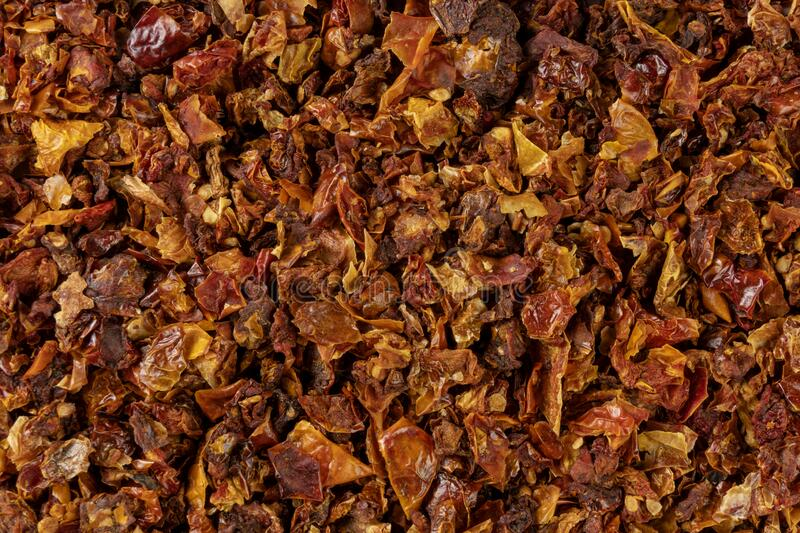 Dried tomatoes background. Natural seasoning texture. spices and food ingredients.  royalty free stock photography