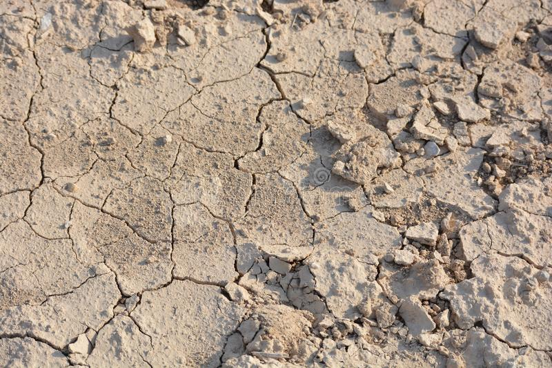 Dried-up soil from thirst. global climate problem. Inefficient land stock images