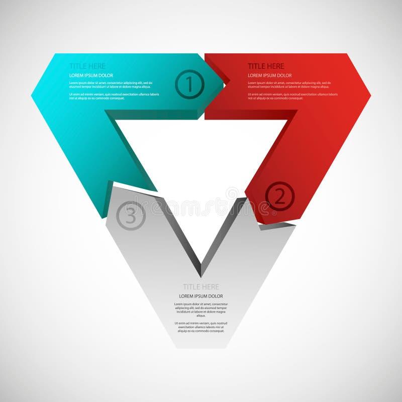 driehoek stock illustratie