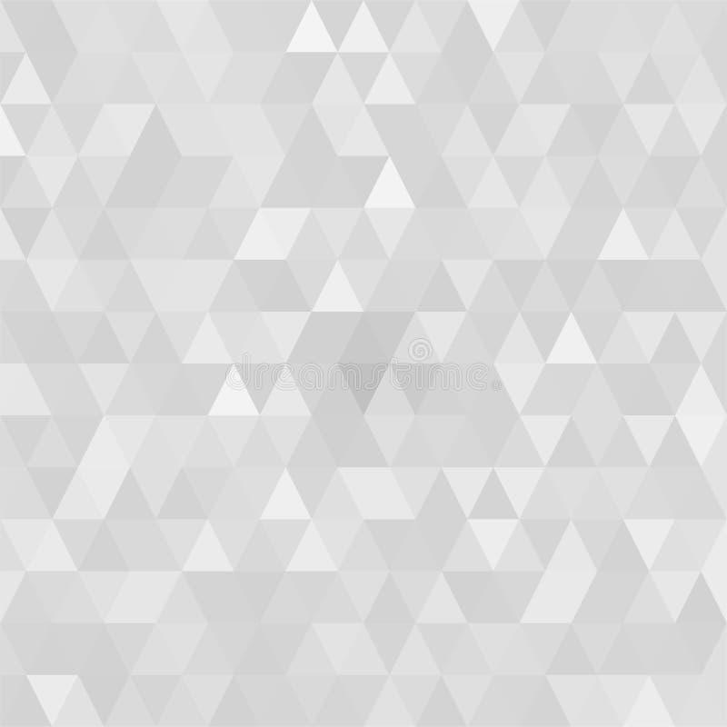 Driehoekige lage poly, achtergrond van het moza?ek de abstracte patroon, Vector veelhoekige illustratie grafische, Creatieve Zake royalty-vrije stock afbeeldingen