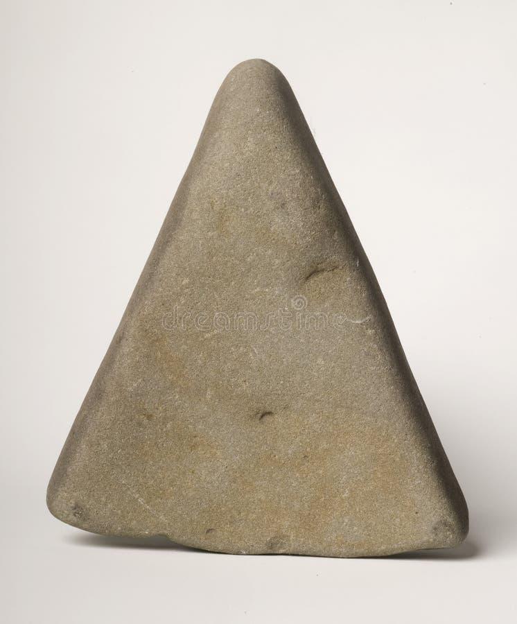 Driehoekige Steen stock fotografie
