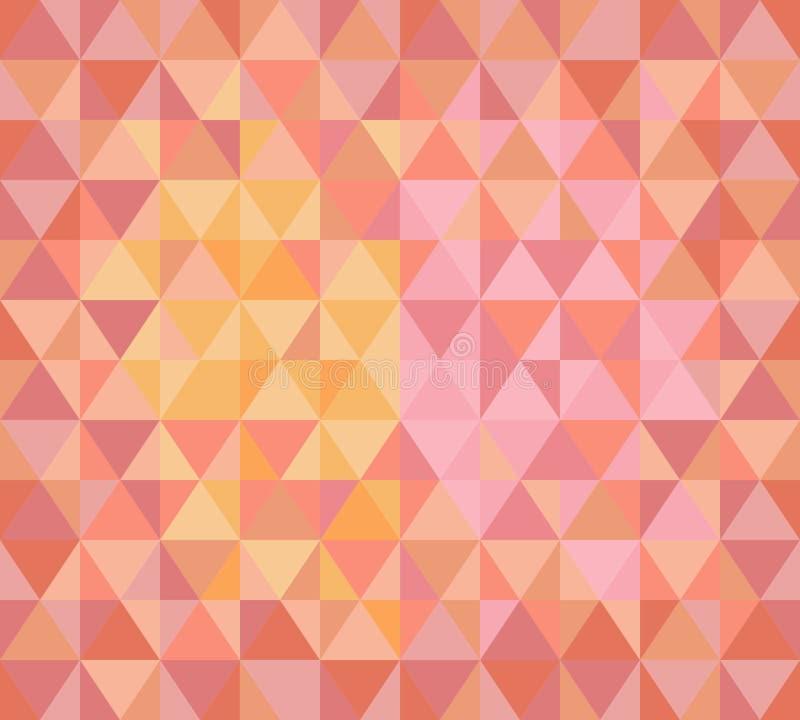 Driehoeks moderne achtergrond royalty-vrije illustratie