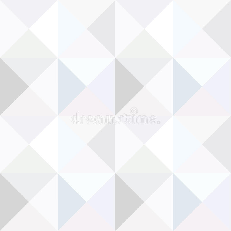 Driehoeks zwart-wit naadloos patroon stock illustratie