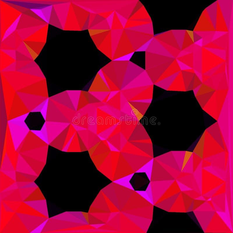 Driehoeksbloemen royalty-vrije stock foto