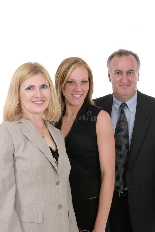 Driepersoons Commercieel Team 4 royalty-vrije stock fotografie