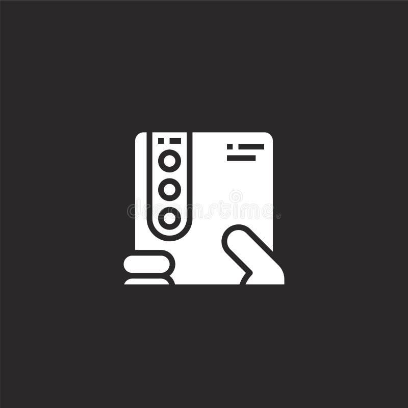 drievoudig pictogram Gevuld drievoudig pictogram voor websiteontwerp en mobiel, app ontwikkeling drievoudig pictogram van gevulde vector illustratie