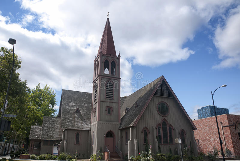 Drievuldigheids Bisschoppelijke Kerk stock foto's