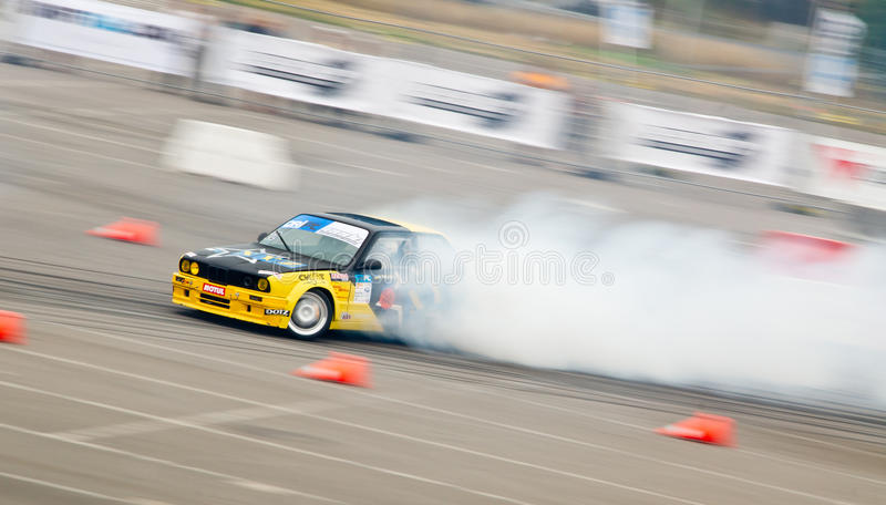 Download Drift car in action editorial photography. Image of speed - 27528942