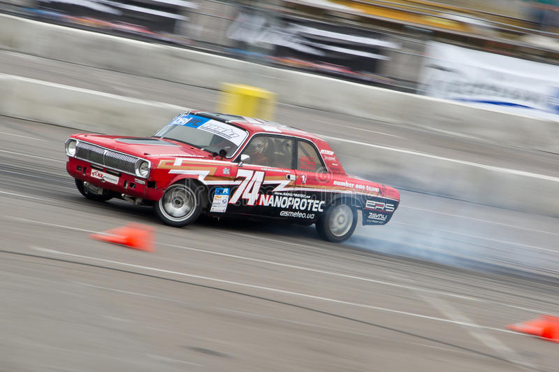 Download Drift car in action editorial stock photo. Image of speed - 27528948