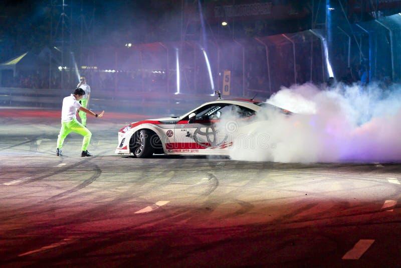 Drift car show stock photos