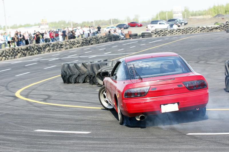 Download Drift racing stock photo. Image of grand, burning, burn - 10234004