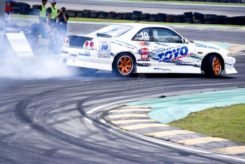 Drift Racing royalty free stock photography